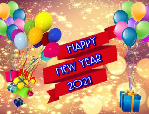ส่งความสุขปีใหม่ 2564